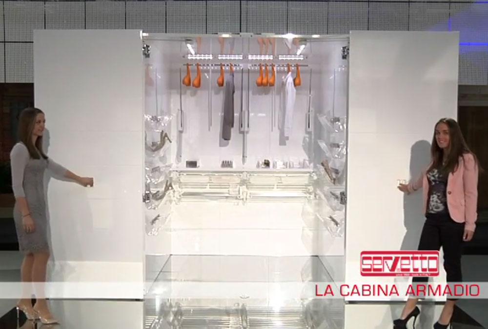 Cabina Armadio Con Servetto : Fiere servetto l ascensore nell armadio